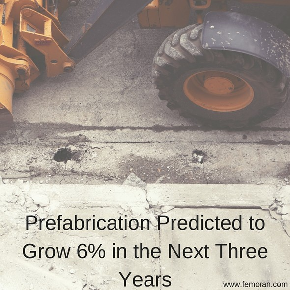 Prefabrication Predicted to Grow 6% in the Next Three Years | The Moran Group