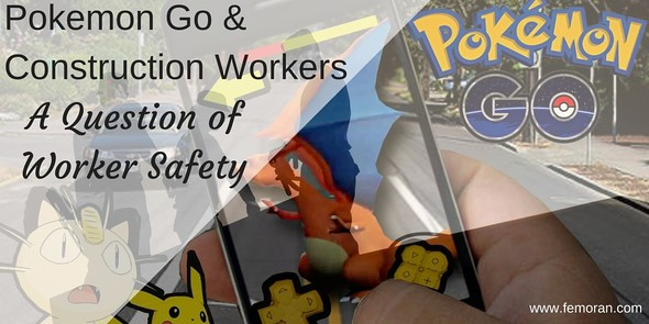 Pokemon Go and construction