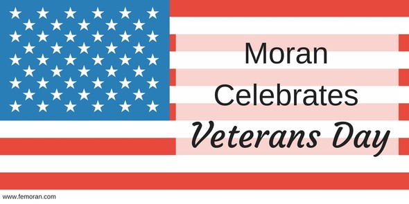 Moran Celebrates Veterans Day
