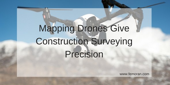 Mapping Drones Gives Construction Surveying Precision