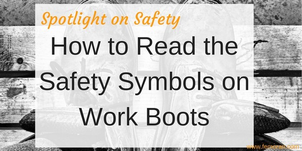 How to read symbols on workboots
