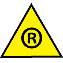 Yellow Triangle Safety Symbol