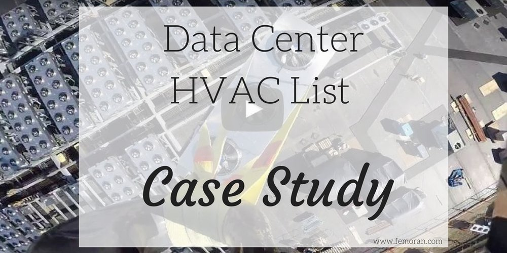 data center HVAC lift