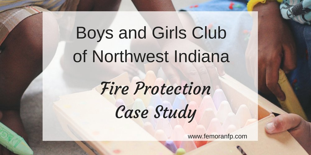 Boys & Girls Club fire protection