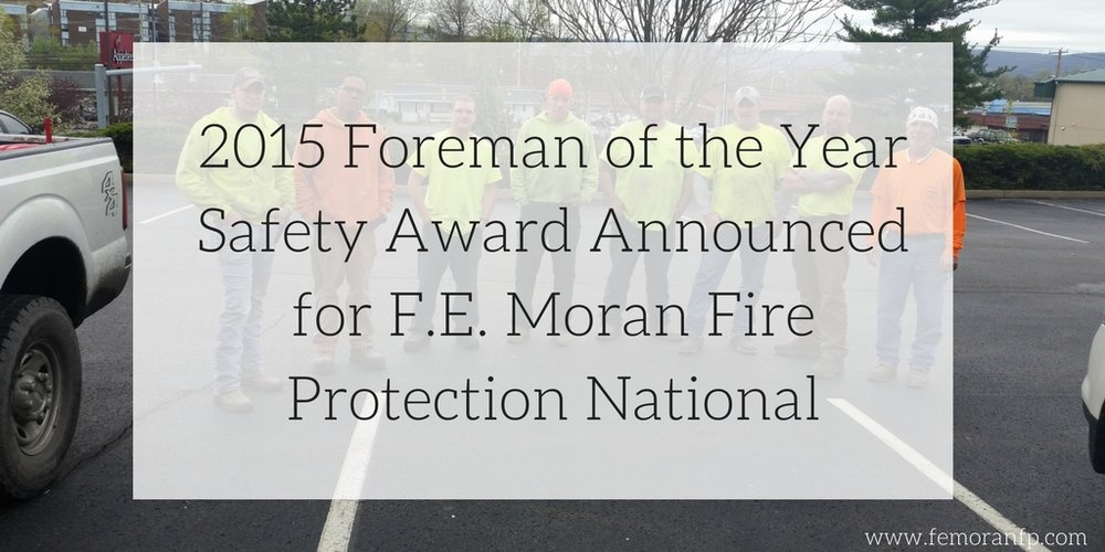 foreman safety award