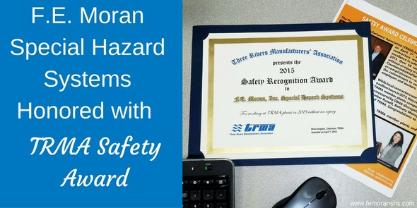 TRMA safety award