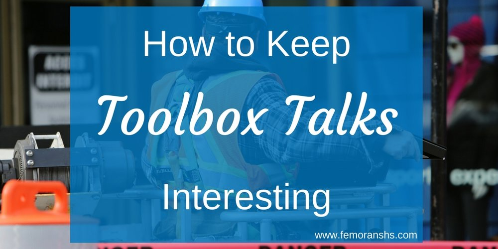 interesting toolbox talks