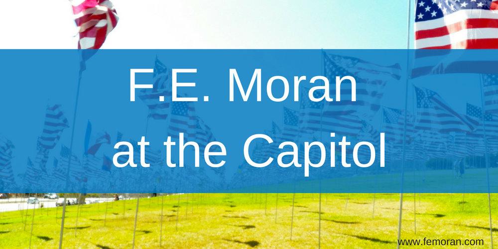 F.E. Moran at the Capitol.jpg