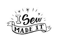 I sew made it logo