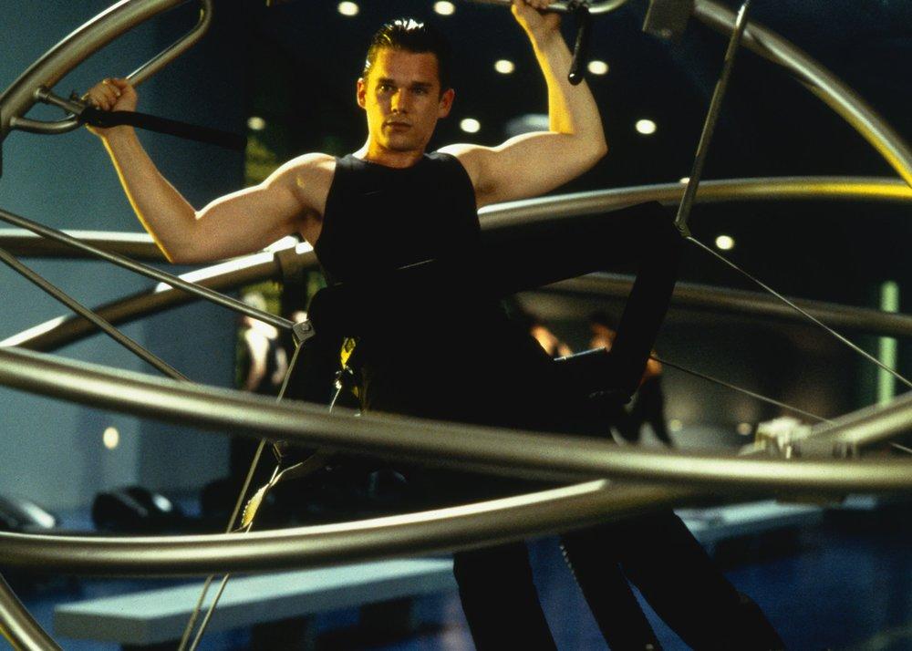 Ethan Hawke in  Gattaca;  MovieStillsDB.com