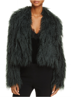 C/MEO Collective Enchanted Faux-Fur Coat at Bloomingdales