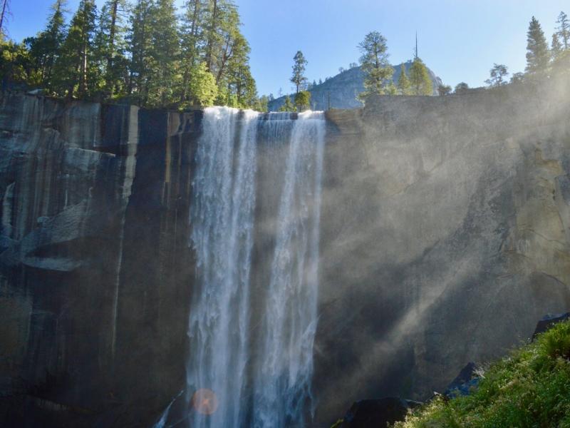 Vernal Fall, Yosemite Valley, United States; photo by  Cam Adams on  Unsplash