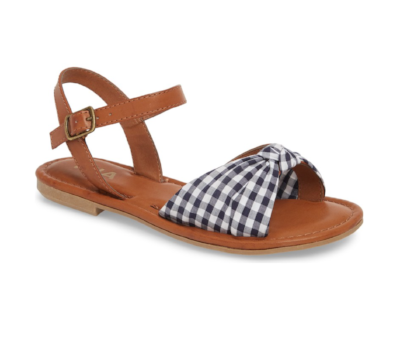 MIA Neala Bow Sandal from Nordstrom