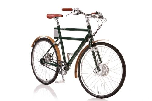 Porteur eBike; image courtesy of Faraday Bikes