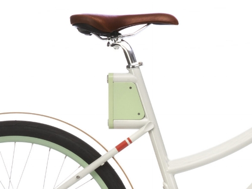 Faraday electronic controller on the Cortland; image courtesy of Faraday Bikes