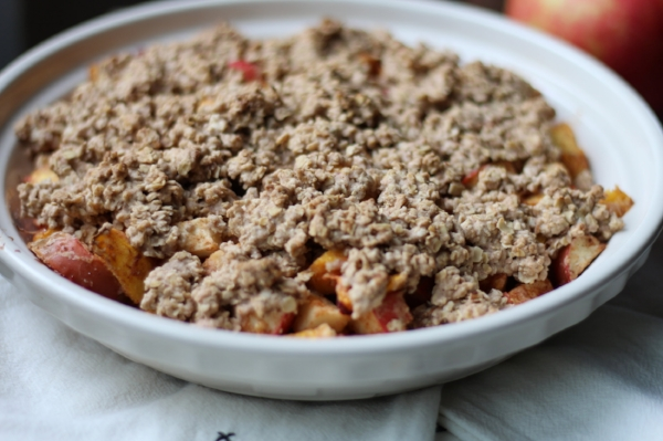 Gluten Free Apple and Peach Crisp 2.JPG