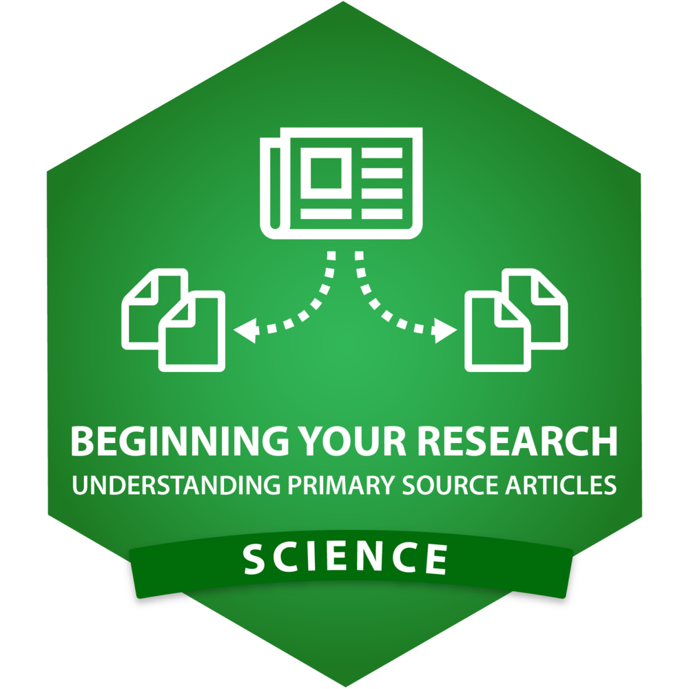 Science - Beginning Your Research - Understanding Primary Source Articles.png