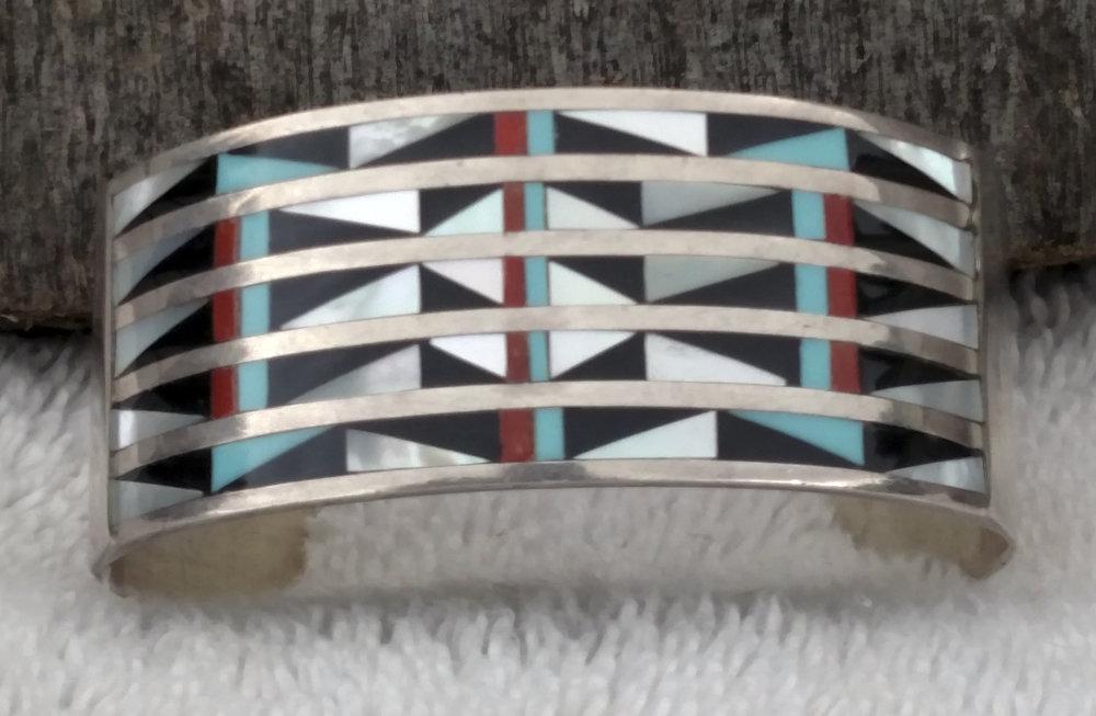 Vintage Native American Cuff Bracelet