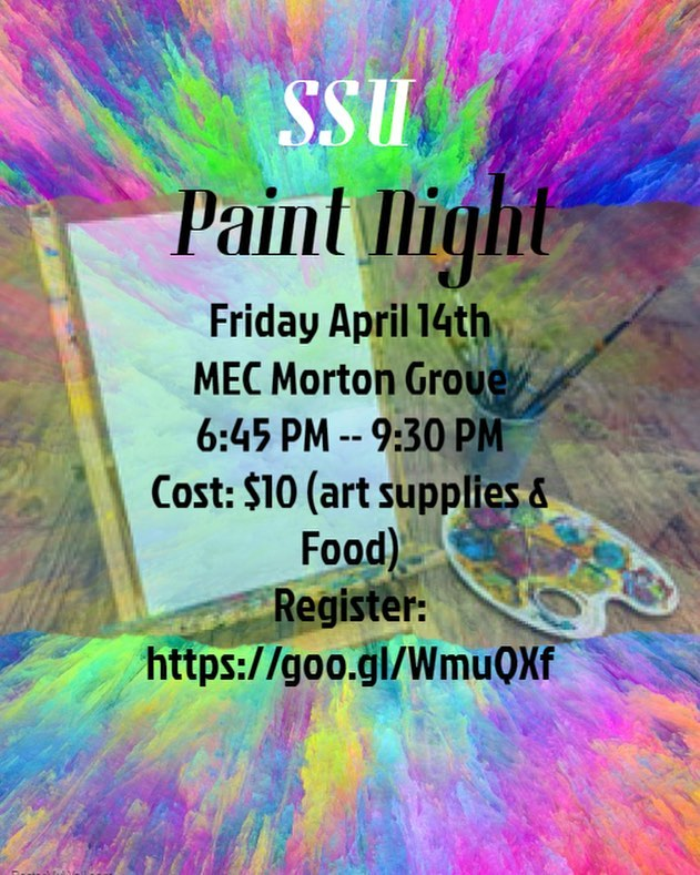 🎨 This Friday at SSU! 6:45pm sharp at MEC! RSVP using the link in our profile or here: Http://goo.gl/WmuQXf