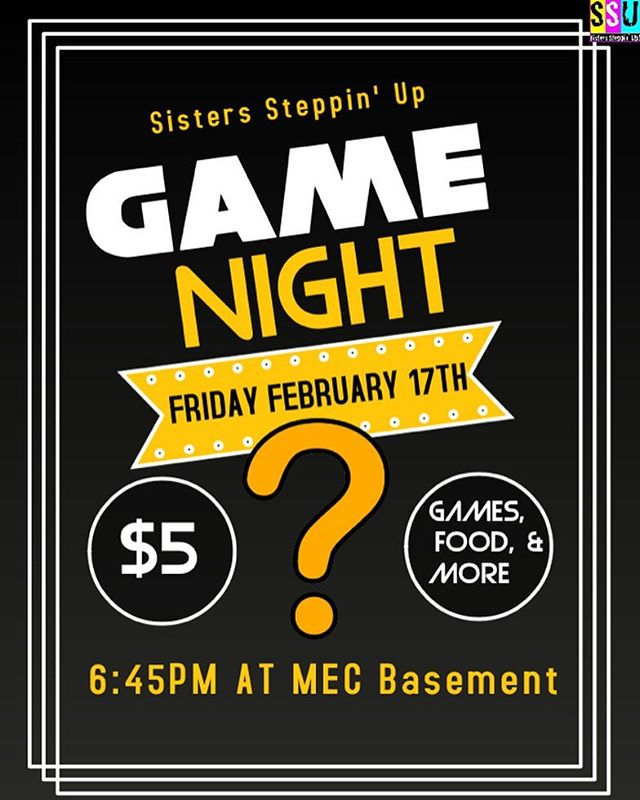 This Friday is Game Night! RSVP using the link in our bio!