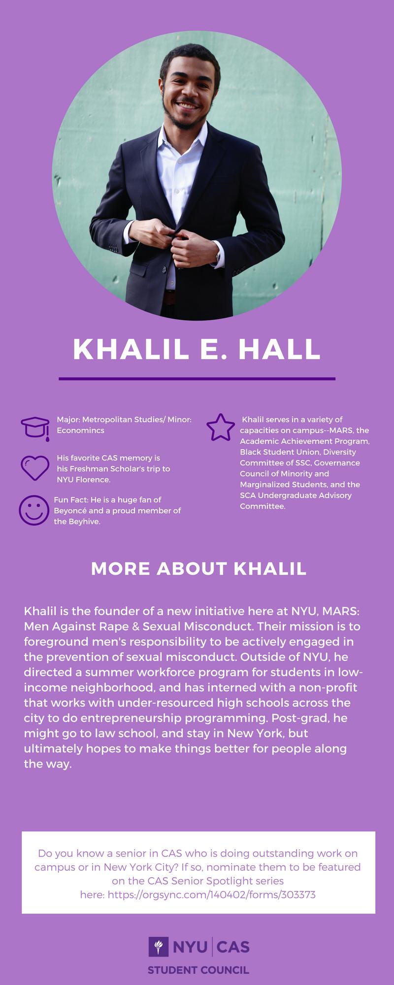 Khalil E. Hall