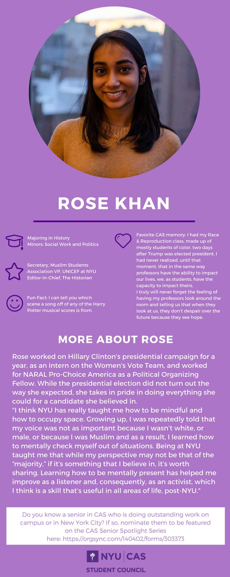 Rose Khan
