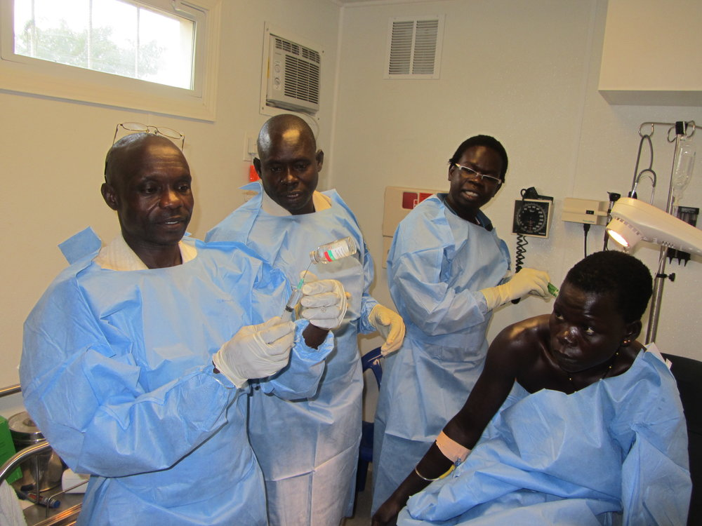 The Healing Kadi Foundation   providing sustainable health care to the people of South Sudan   Mission