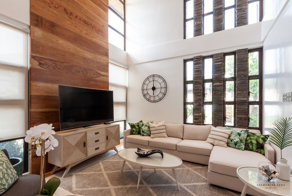 RESIDENTIAL - We design livable spaces that not only looks good, but feels good as well.