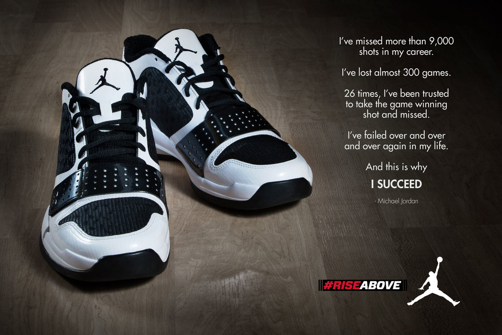 "Project   Advertising concepts   Air Jordan   ""#RISEABOVE"""
