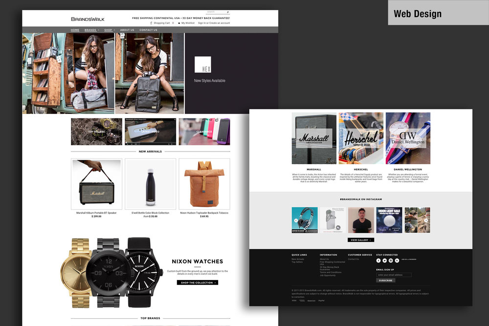 Project   Branding / Web Design   Media Assets   Website design and integration to Shopify