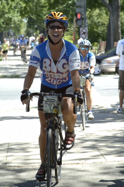 Immediately following her FBI retirement, Ellen rode her bike across America, from Seattle to Washington, D.C., in a fundraiser called The Big Ride for the American Lung Association in memory of her mother.