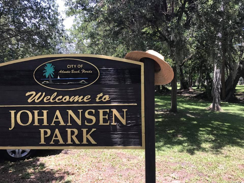 Here we are at Johansen Park off Seminole Road. Home of Arts in the Park and other special events, like this year's Shakespeare in the Park. How cool for residents to walk out their doors and be in a park!
