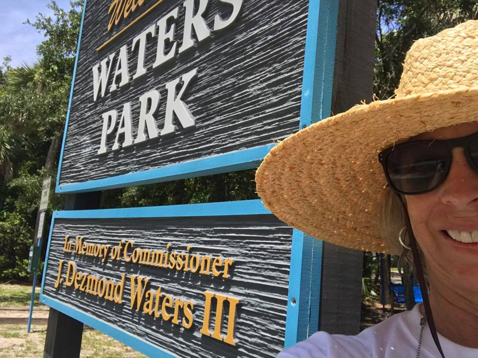 Last stop at Waters Park named for Commissioner Dezmond Waters III. Thank you Dezmond for your service to Atlantic Beach! I hope you enjoyed this tour of our Atlantic Beach parks as much as I did!