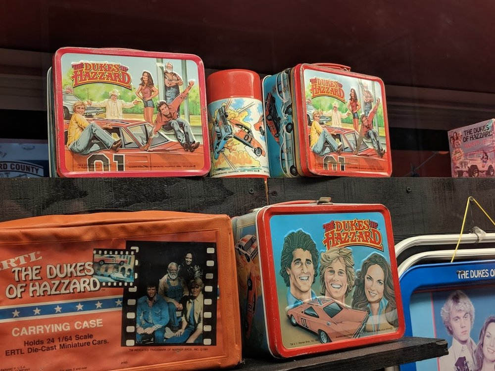Kids at my school totally had these lunch boxes. But not the stupid Coy and Vance (fake Duke boys) one. That one's stupid. Nobody liked Coy and Vance.
