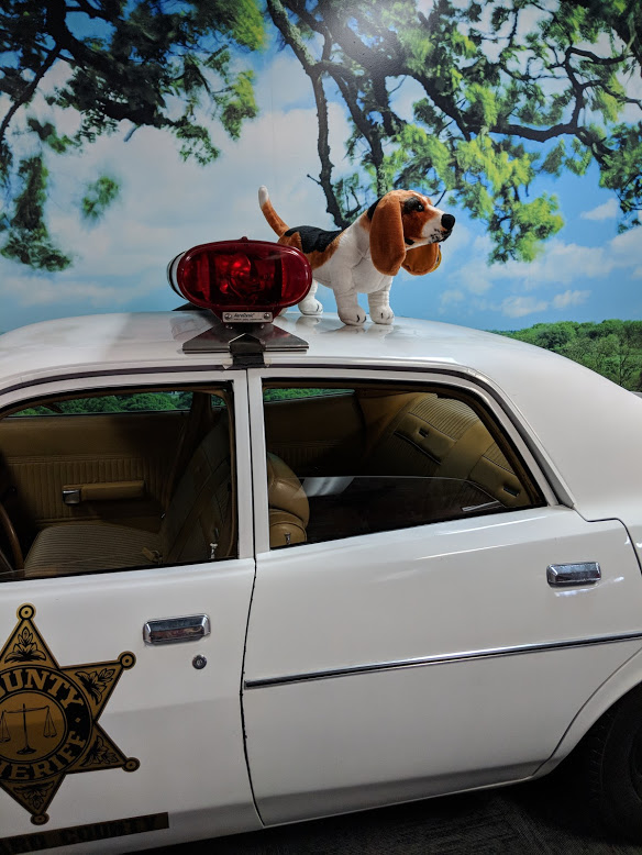 Roscoe's beagle Flash's ability to distract Roscoe and thus save the Duke boys? Equaled only by Daisy's ability to distract.