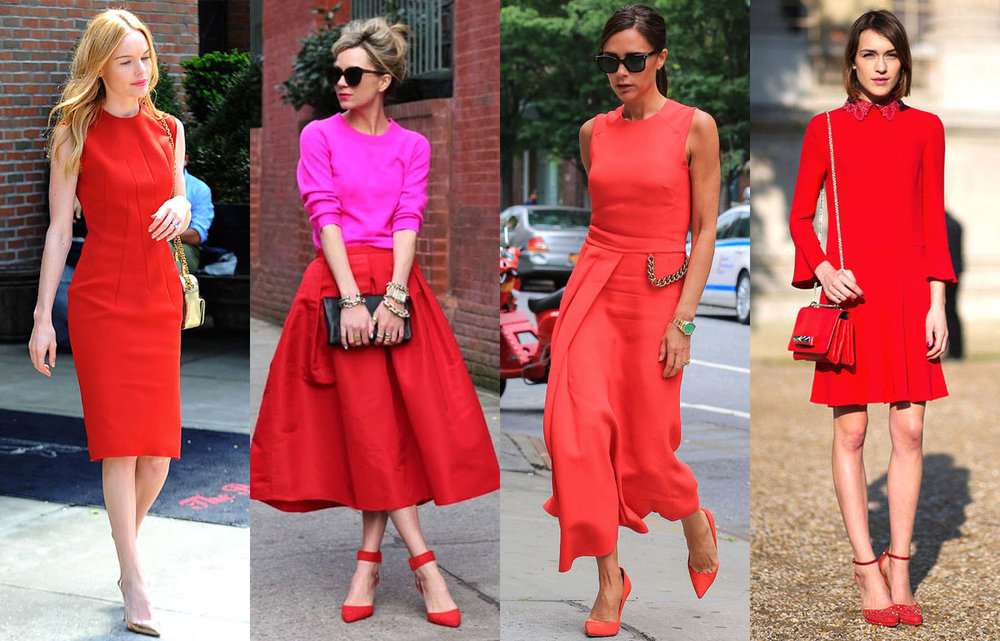 Looks com o vermelho da moda!
