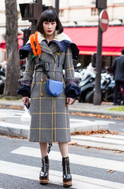 Moda de Rua Paris - Verao 2018 foto: FOTOSIT