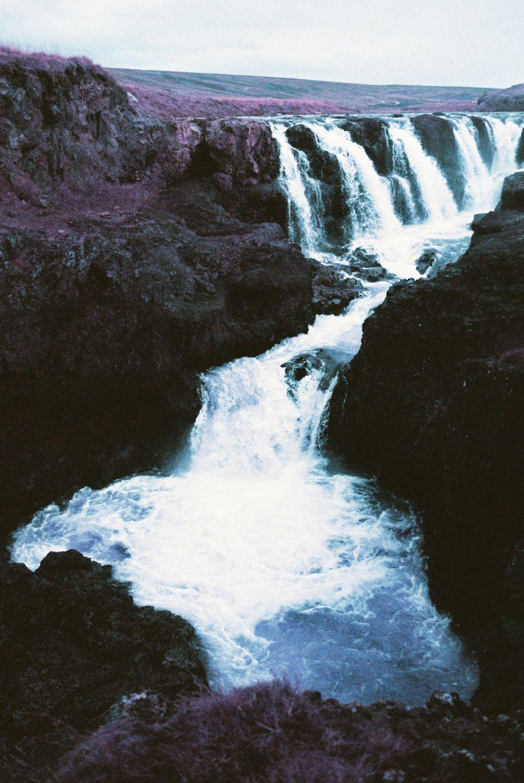 12 - Falling II - Kolugljufur Falls.jpg