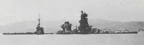 Hyuga sunk off Kure.