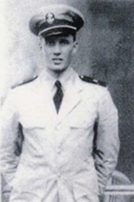 US Navy Ensign John J. Hantschel