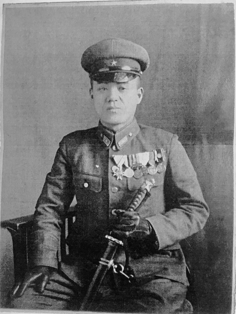 Lt. Col. Shigeo Nakamura, in command of the Chugoku Military Police (Kempeitai) Headquarters.