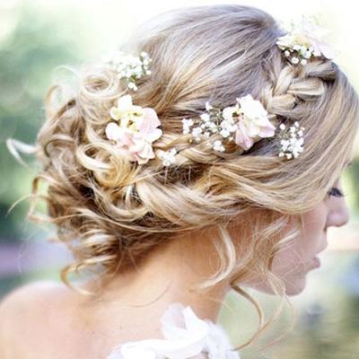 Bridal hair & makeup style