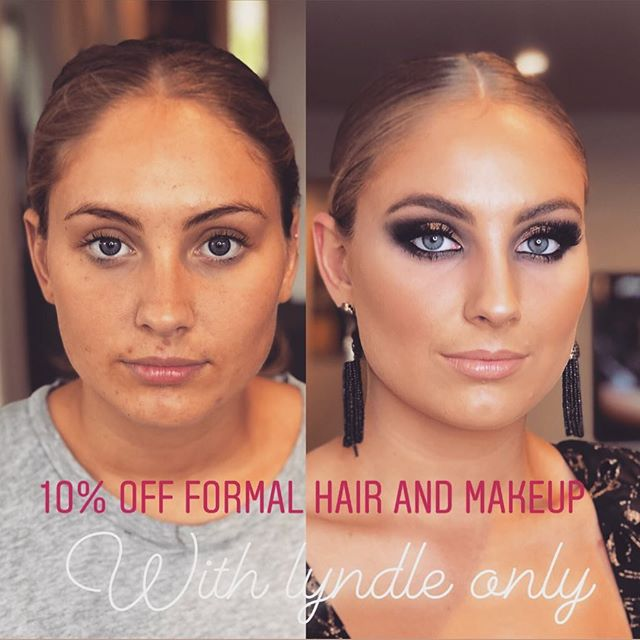 Limited time only.. formal special. 10% off hair and makeup services. *valid with lyndle only.