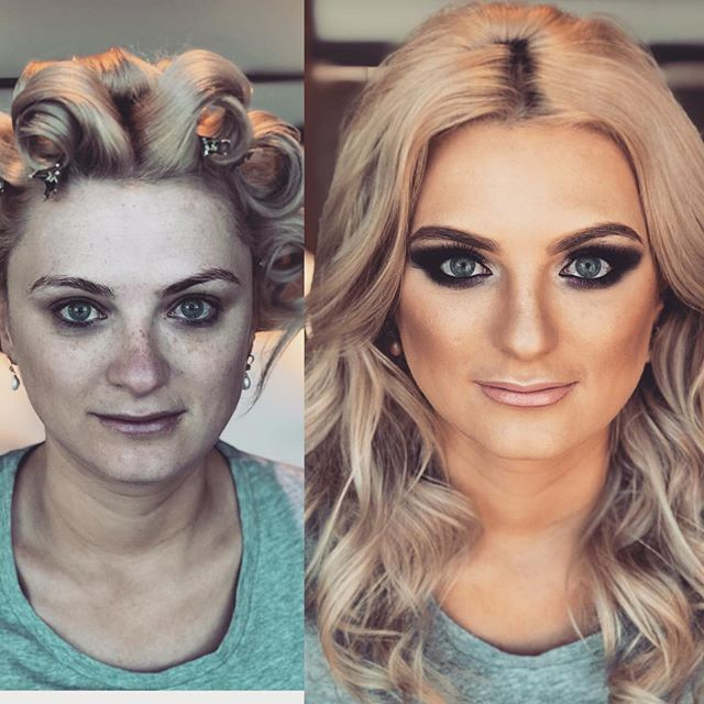 Don't you just love a good before and after! @dannielle_horwood  Shoot ready! #shoot #shootready #glamsquad #glamourmakeup #bigeyes #makeup #makeupartist #hair #hairstylist #hairstyling