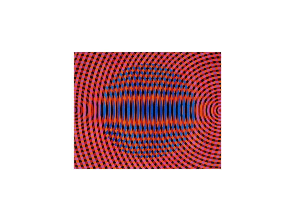 John Aslanidis   Sonic fragment no.52 ,2017 oil and acrylic on canvas 62 x 76cm