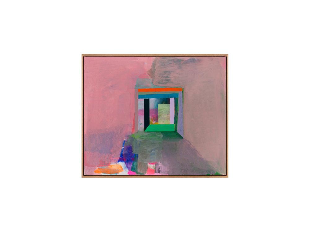 "Miranda Skoczek   ""Portal"", Oil and Acrylic on Linen 81 x 95 cm   ARTIST BIO"
