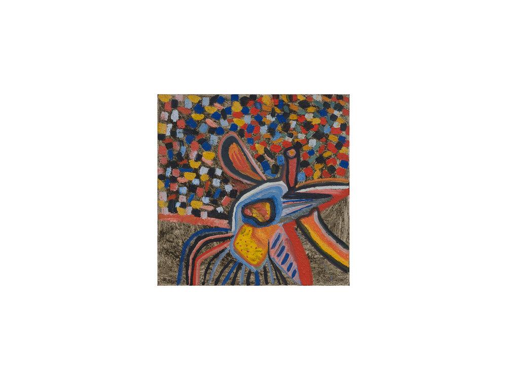Mary Barton   Wildflowers Everwhere , 2016 oil on linen 39 x 39 cm   ARTIST BIO