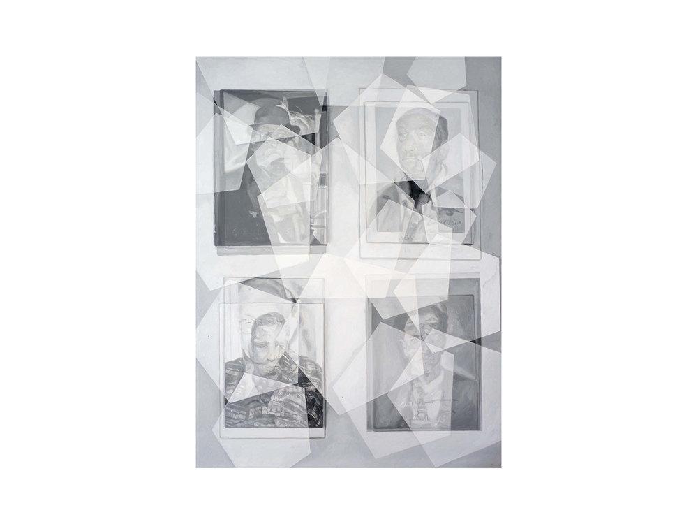 "Julie Fragar    ""Look for All of Us Together"", 2016, oil on board, 137 x 102cm   ARTIST BIO"