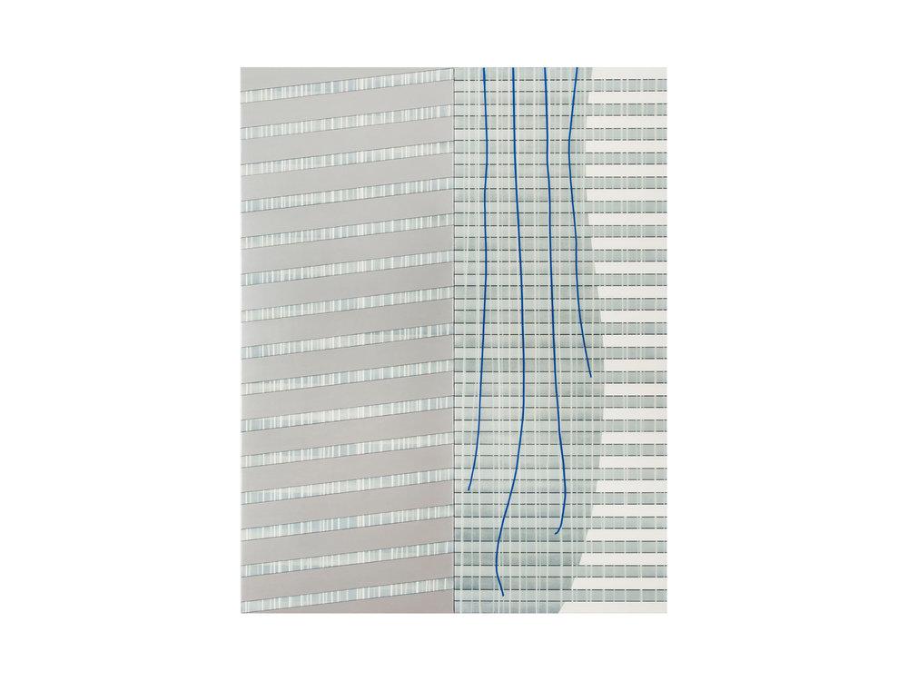"David Wallage    ""The Anatomy of Memory no. 2"", 2015, acrylic on linen on Dibond®, 90 x 60cm   ARTIST BIO"