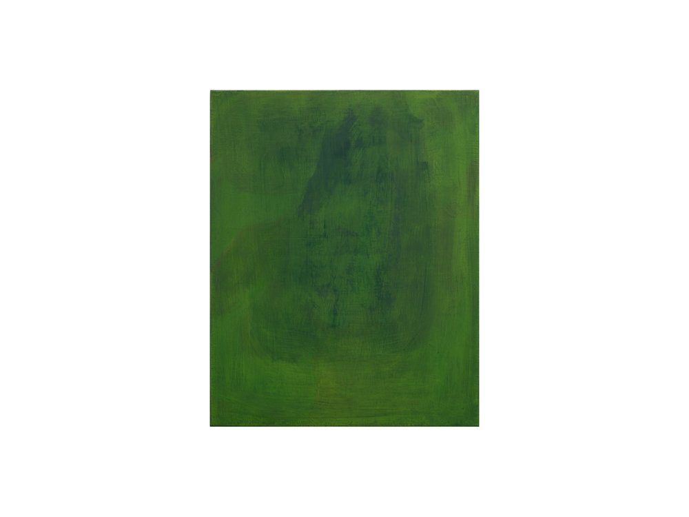 Jordan Spedding   Green , 2015 oil on canvas 75 x 60cm   ARTIST BIO